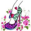 穿高跟鞋的女人