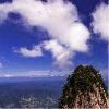 天竺山上的云彩